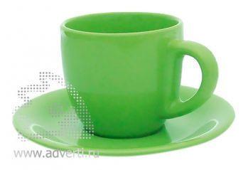 Чайная пара PR-009, зеленая