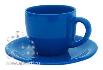 Чайная пара PR-009, синяя