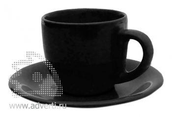 Чайная пара PR-009, черная