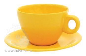 Чайная пара PR-010, желтая