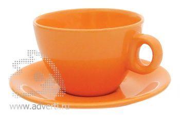 Чайная пара PR-010, оранжевая