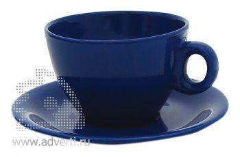 Чайная пара PR-010, синяя