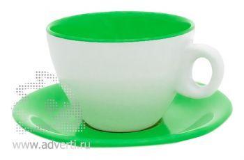 Чайная пара PR-011, зеленая