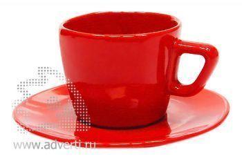 Чайная пара PR-012, красная
