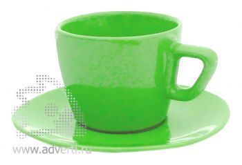 Чайная пара PR-012, зеленая