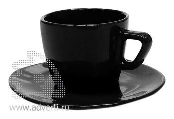 Чайная пара PR-012, черная