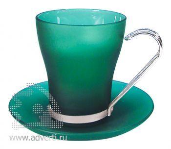 Чайная пара PR-032, зеленая