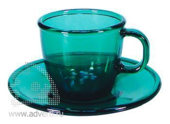 Чайная пара PR-054, зеленая