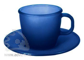 Чайная пара PR-055, синяя