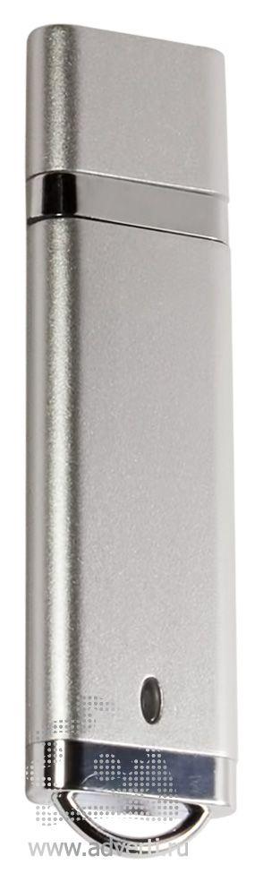 USB-флешка «DE», серебристая