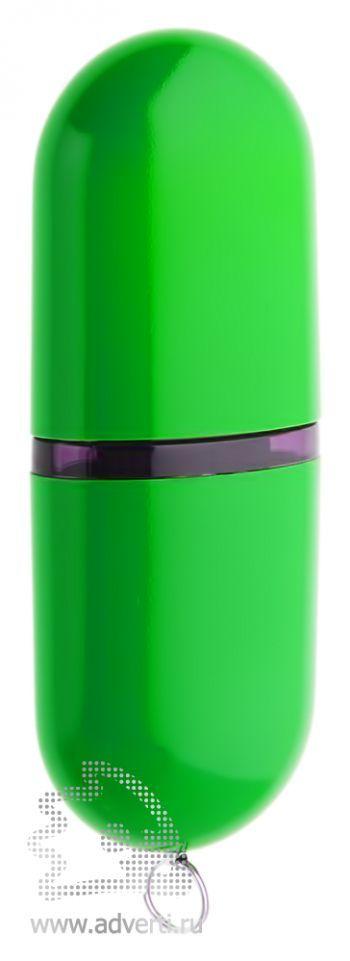 Флеш-память «Капсула», зеленая