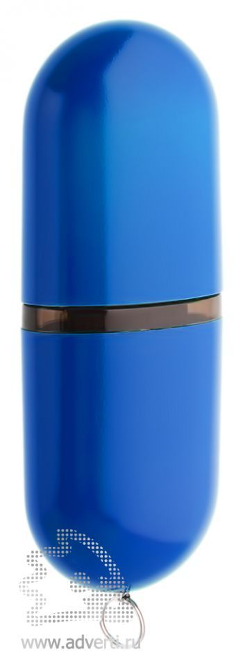 Флеш-память «Капсула», синяя