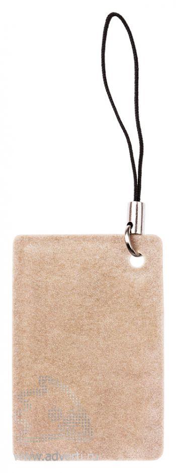 Брелок-полировка для мобильного телефона, оборот