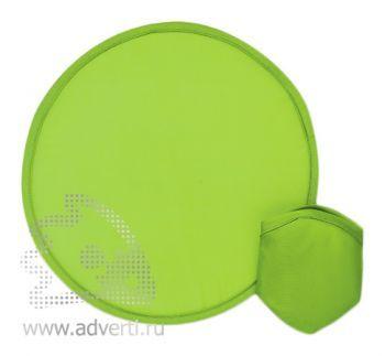 Фрисби в компактном чехле, зеленый