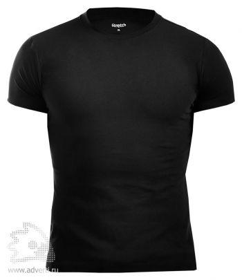 Футболка Leela  лайкровая «Stretch», черная
