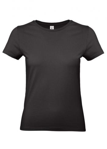 Футболка женская E190 черная
