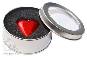Флеш-память «Сердце», в коробке