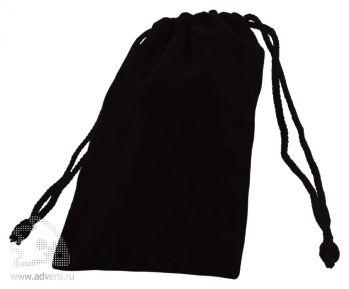 Упаковка-мешочек для флешки, черная