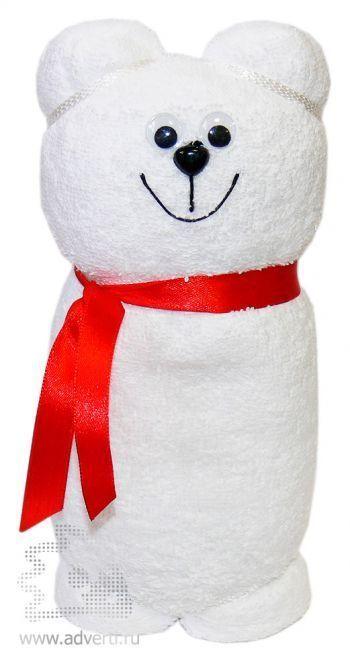 Полотенца-фигурки «Усатые зверюшки», мишка