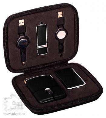 USB Набор с флешкой, черный