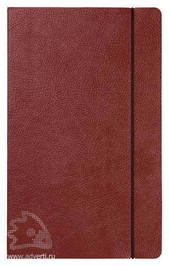 Ежедневники «Vincent», коричневые