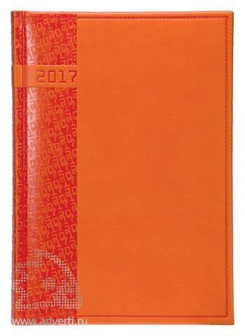 Ежедневники и еженедельники «Vivella», оранжевые, датированная обложка