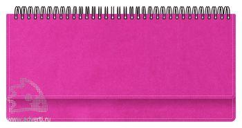 Планинги «Вивелла», ярко-розовые
