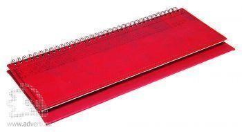 Планинги «Vivella», красные