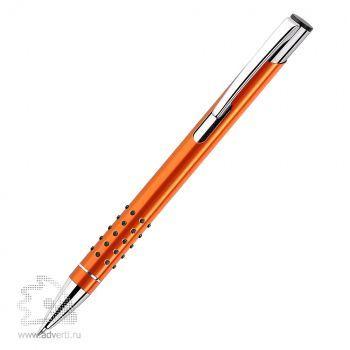 Шариковая ручка «Veno Rubber», оранжевая