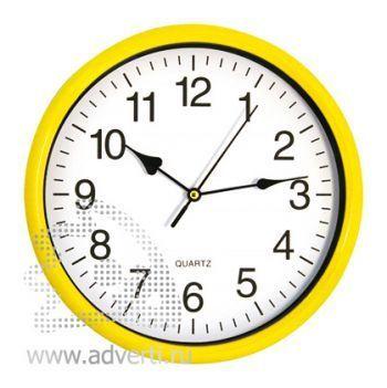 Часы настенные PR-035, желтые