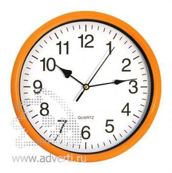 Часы настенные PR-035, оранжевые