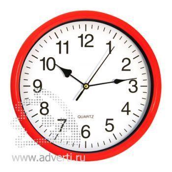 Часы настенные PR-035, красные