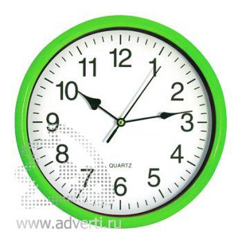 Часы настенные PR-035, светло-зеленые