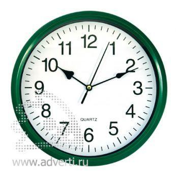 Часы настенные PR-035, зеленые