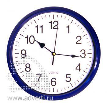 Часы настенные PR-035, синие