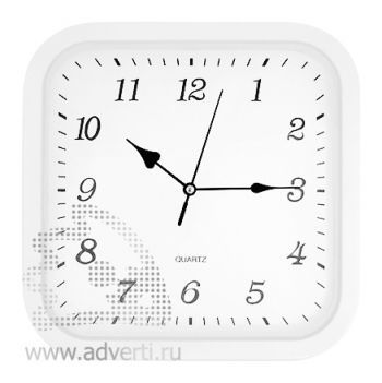 Часы настенные PR-036, белые