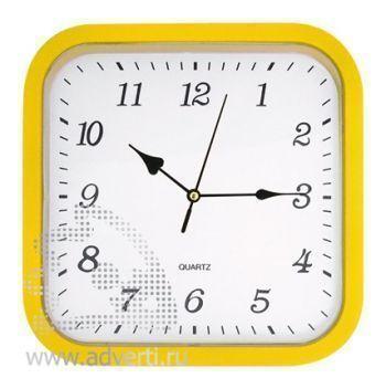 Часы настенные PR-036, желтые