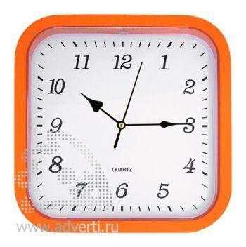 Часы настенные PR-036, оранжевые