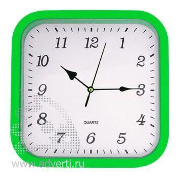 Часы настенные PR-036, зеленые