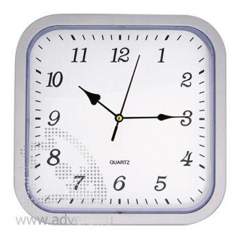 Часы настенные PR-036, серебристые