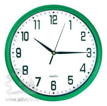 Часы настенные PR-060, зеленые