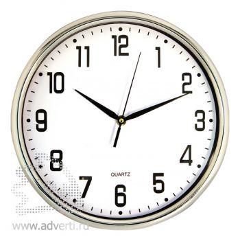 Часы настенные PR-060, серебристые