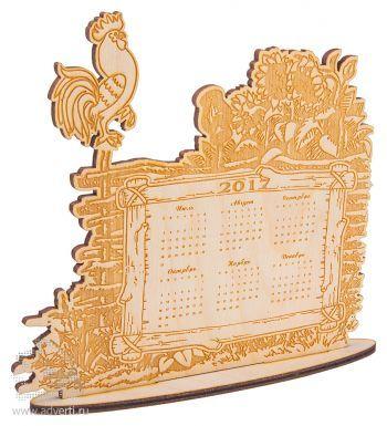 Настольный календарь «Гордый петух»