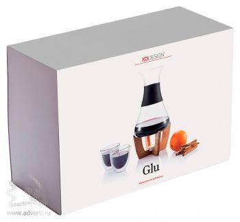 Набор для глинтвейна «Glu» с чашечками, упаковка