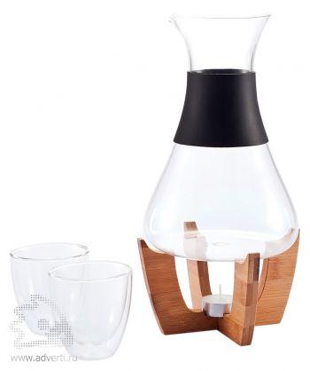 Набор для глинтвейна «Glu» с чашечками