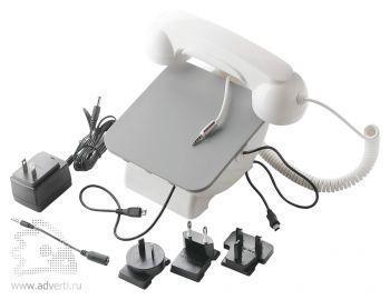 Док-станция для телефона «Retro Phone», в наборе комплект переходников