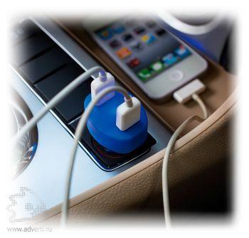 Зарядное устройство для автомобиля с 2 USB-портами, применение