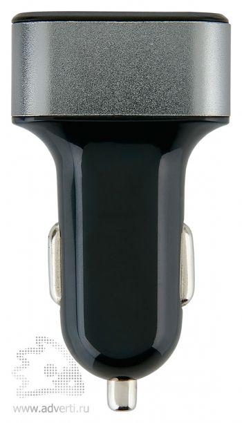 Мощное 3.1A зарядное устройство для автомобиля с 3 USB-порт, общий вид