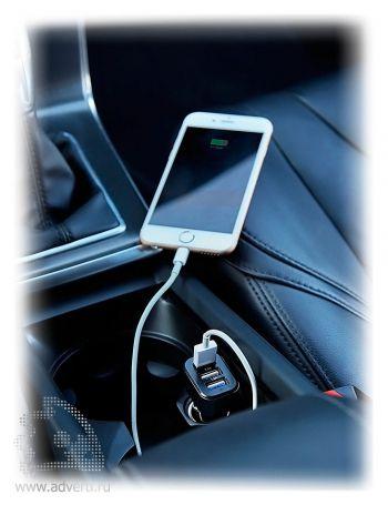 Мощное 3.1A зарядное устройство для автомобиля с 3 USB-порт, применение
