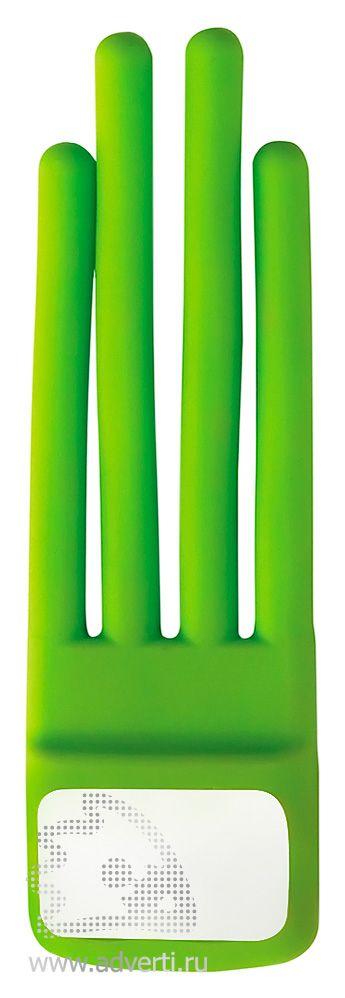 Подставка «Eddy» для телефона, зеленая
